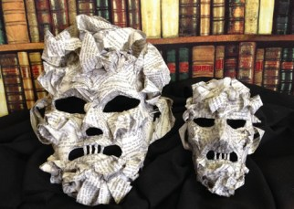 Writer's Masks by TentacleStudio.com