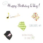 Happy Birthday le blog, jour 4 : Funky Giraffe