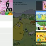 Voici venus les Barbapapa… {Test application}