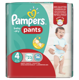 Paquet de couche Pampers Pants