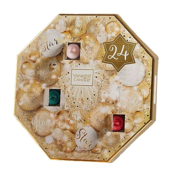 calendrier avent yankee candle