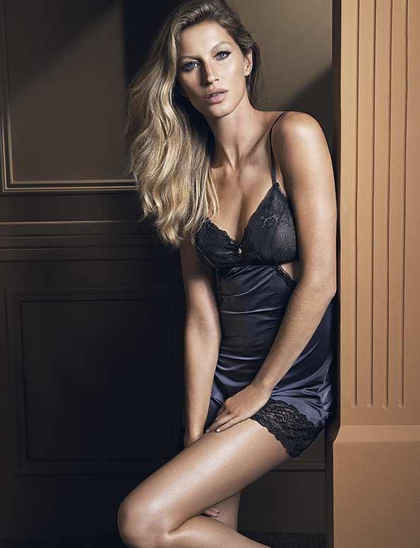 061a7a59a Gisele Bündchen volta a estrelar campanha de lingerie – A Mais Influente