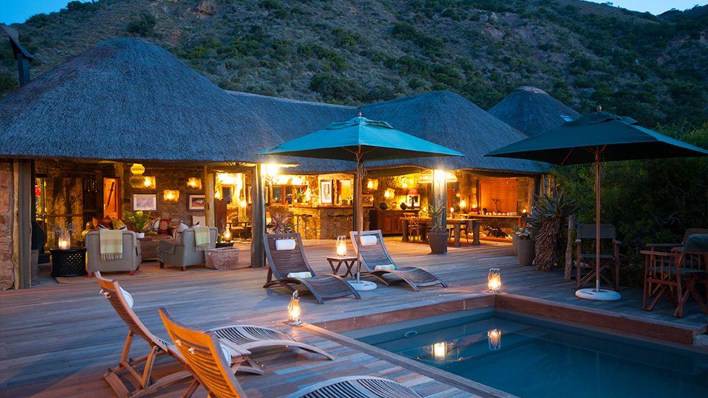 HillsNek Safari Camp Swimming Pool Area