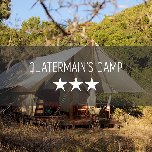 Quatermains Camp   Featured Image