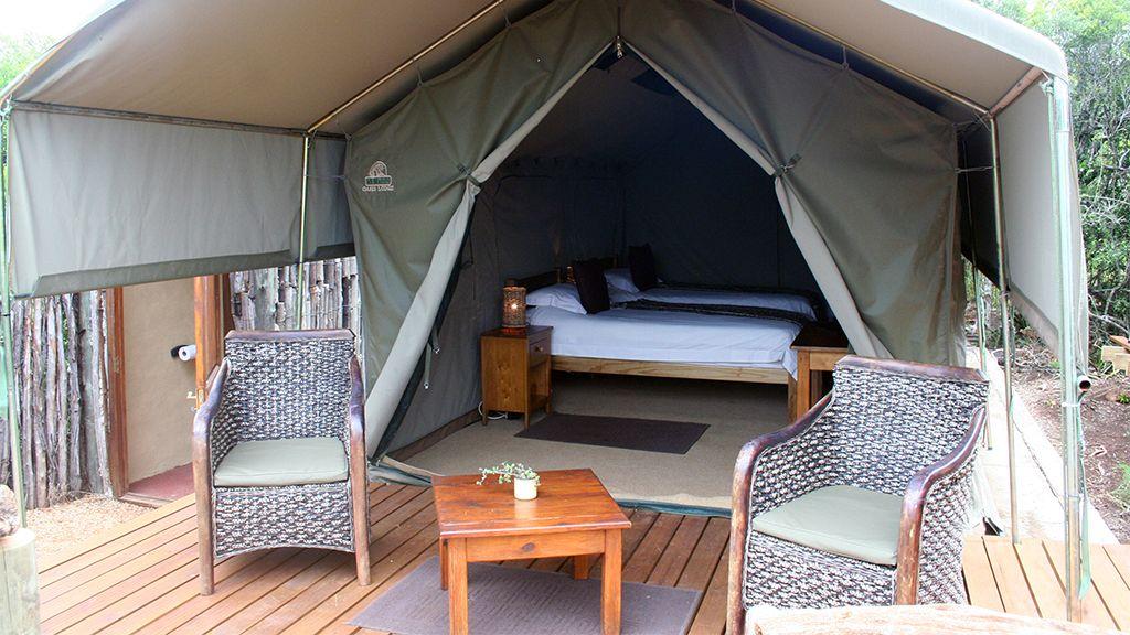 Woodbury Tented Camp Twin Accommodation