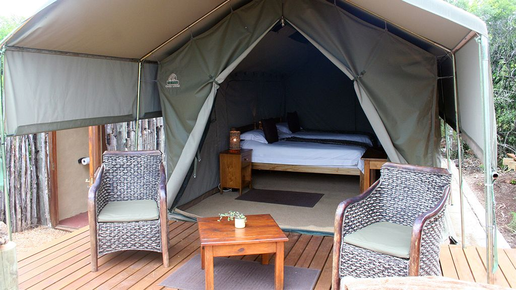Woodbury Tented Camp Twin Accommodation