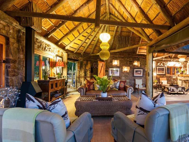 Amakhala   Weddings   HillsNek Safari Camp   Camp Lounge Interior