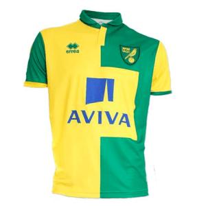 Maglia Norwich City Home 2015-2016