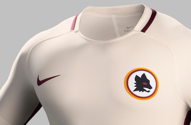 roma maglia bianca 2016-2017