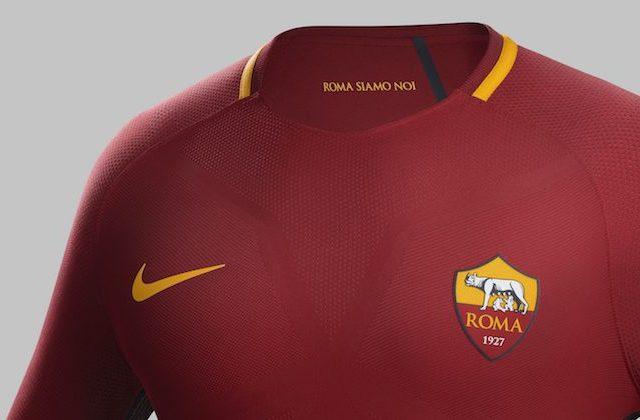 roma maglia home 2017 2018 nike