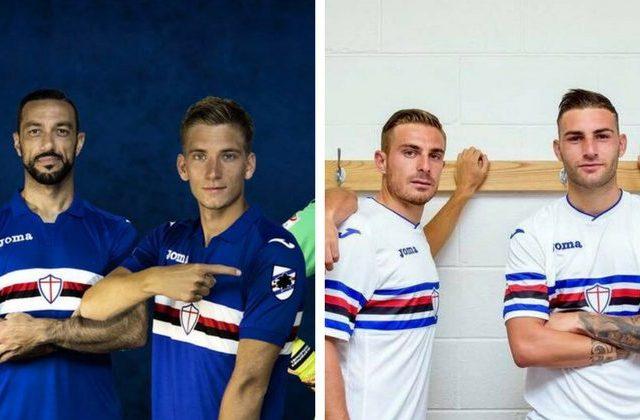 sampdoria home away 2017 2018