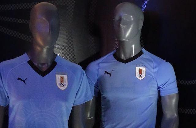 Uruguay, maglia home Russia 2018