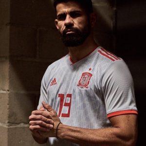 seconda maglia Spagna 2018 adidas