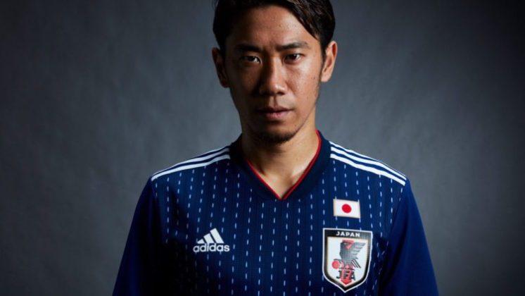 prima maglia Giappone 2018 per i Mondiali di calcio