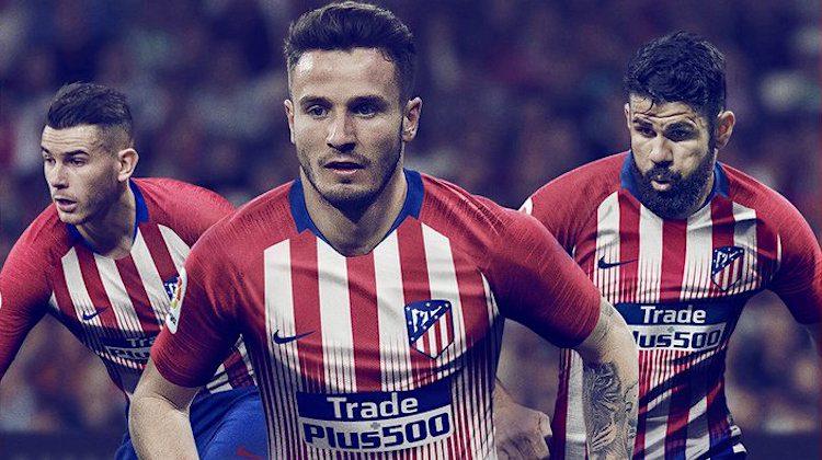 Atletico Madrid home kit 2018 2019 Nike