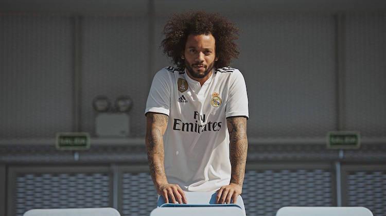 Real Madrid home kit 2018-2019 adidas