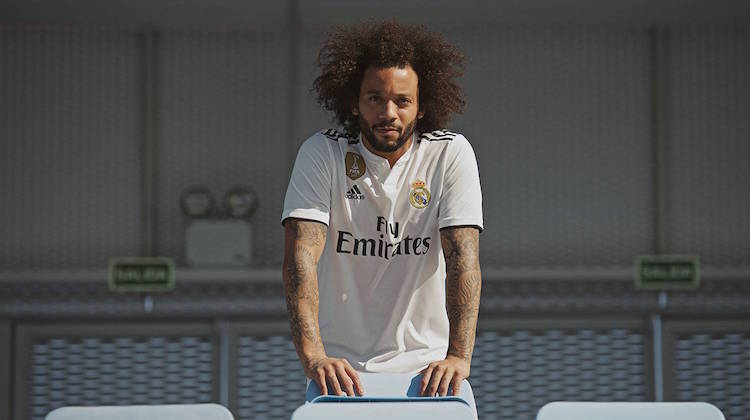 Real Madrid home kit 2018-2019 adidas