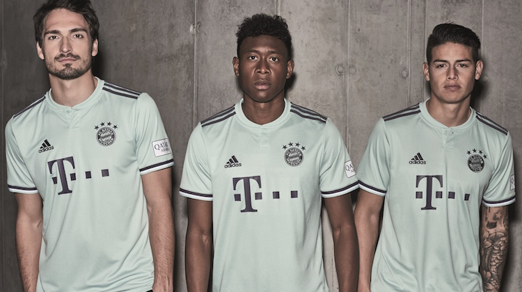 Bayern away kit 2018 2019