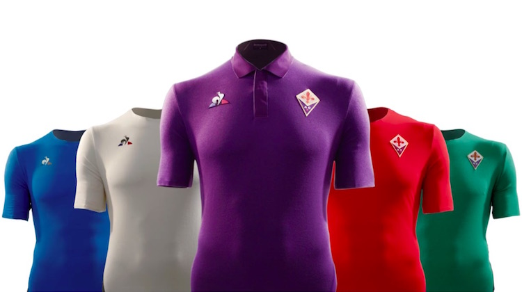 Seconda Maglia Fiorentina nazionali