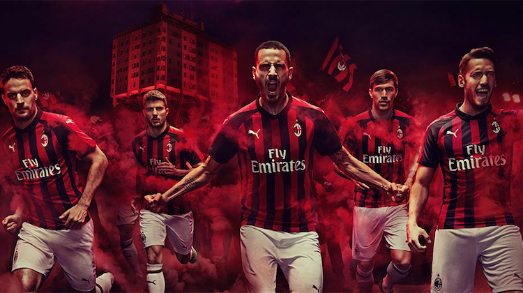 Milan home kit 2018-2019 Puma