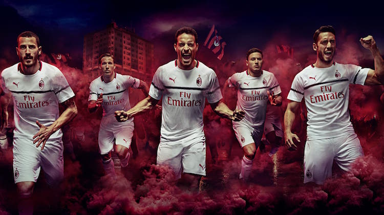 Milan away kit 2018 2019 Puma