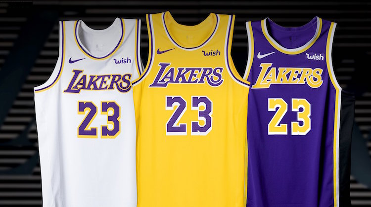 Lakers canotta 2018 Nike