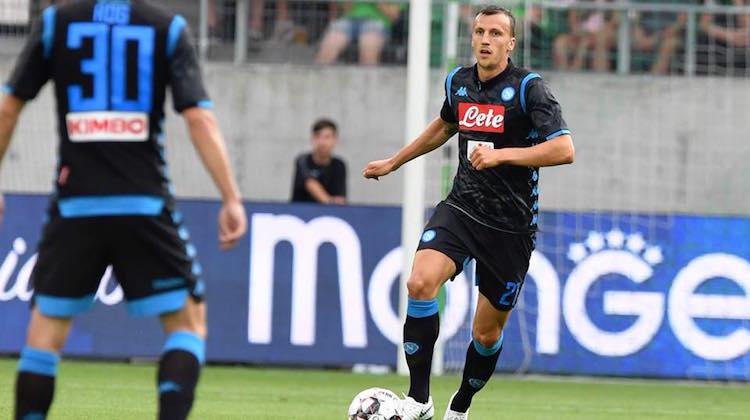 Napoli kit away 2018 2019