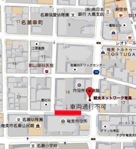市役所周辺地図
