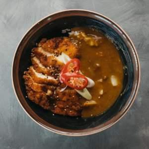Amami Sushi Chicken Katsu Curry