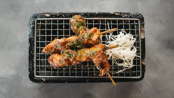 Amami Sushi Chicken Skewers