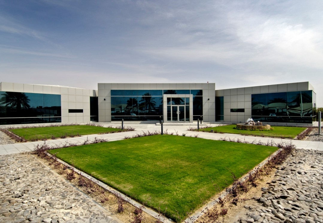 Spare Parts Logistics Center for Diesel Technic at Jebel Ali Free Zone