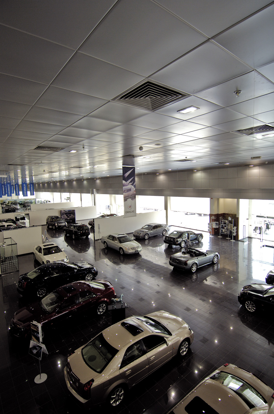 Showroom for Liberty Automobiles at Sharjah Industrial Area
