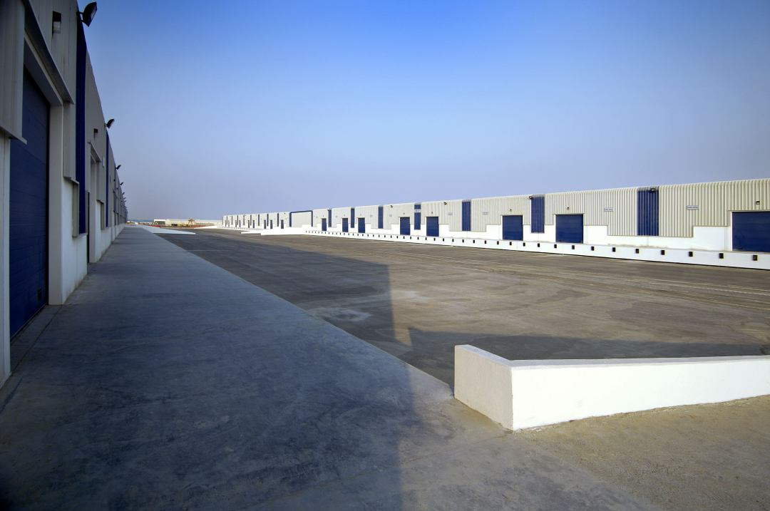 Light Industrial Units (Phase 8) for Dubai Ports Authority at Jebel Ali Free Zone