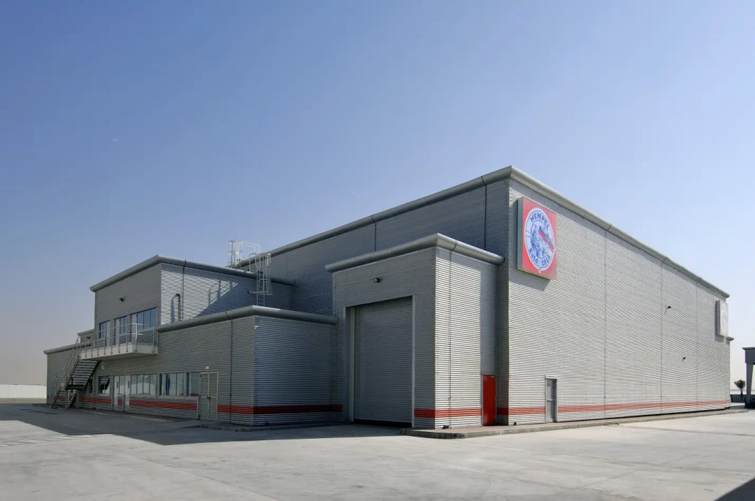 Paint Factory for Hempel Paints at Sharjah Industrial Area