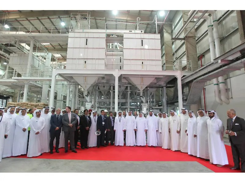 Al Dahra Holding inaugurates rice factory at Khalifa Industrial Zone