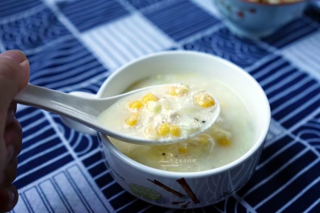 濃湯,牛排館,玉米濃湯,雞蓉,雞蓉玉米濃湯