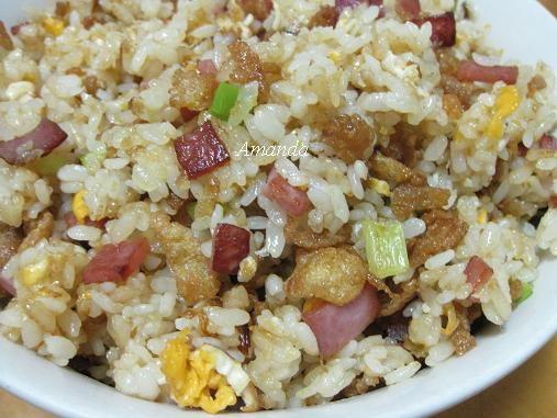 古早味,炒飯,蒜蘇,蒜頭,蛋酥,雞蛋 @Amanda生活美食料理