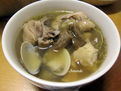 老菜脯蛤蜊雞湯 -傳統古早味雞湯