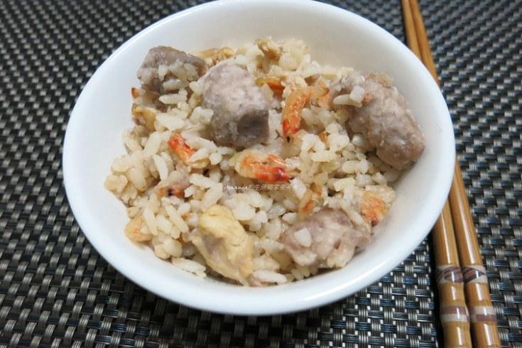 櫻花蝦,炊飯,芋頭飯,雜炊,香芋飯 @Amanda生活美食料理