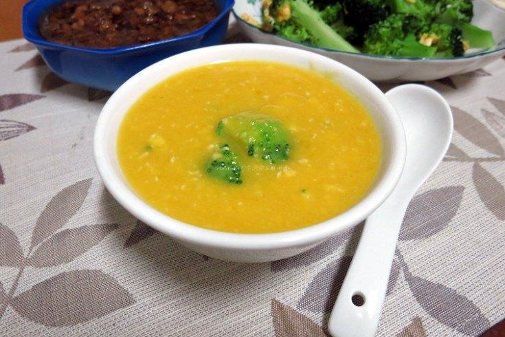 南瓜,濃湯,雞柳條,雞胸肉,鮮奶 @Amanda生活美食料理