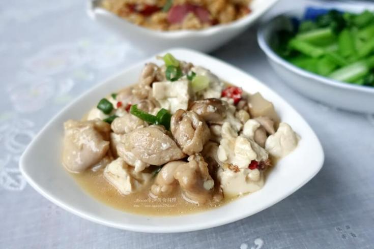燴飯,蠔油,豆腐,雞肉 @Amanda生活美食料理