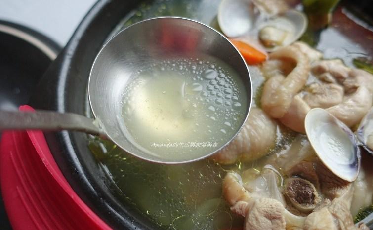 蛤蜊海帶雞湯