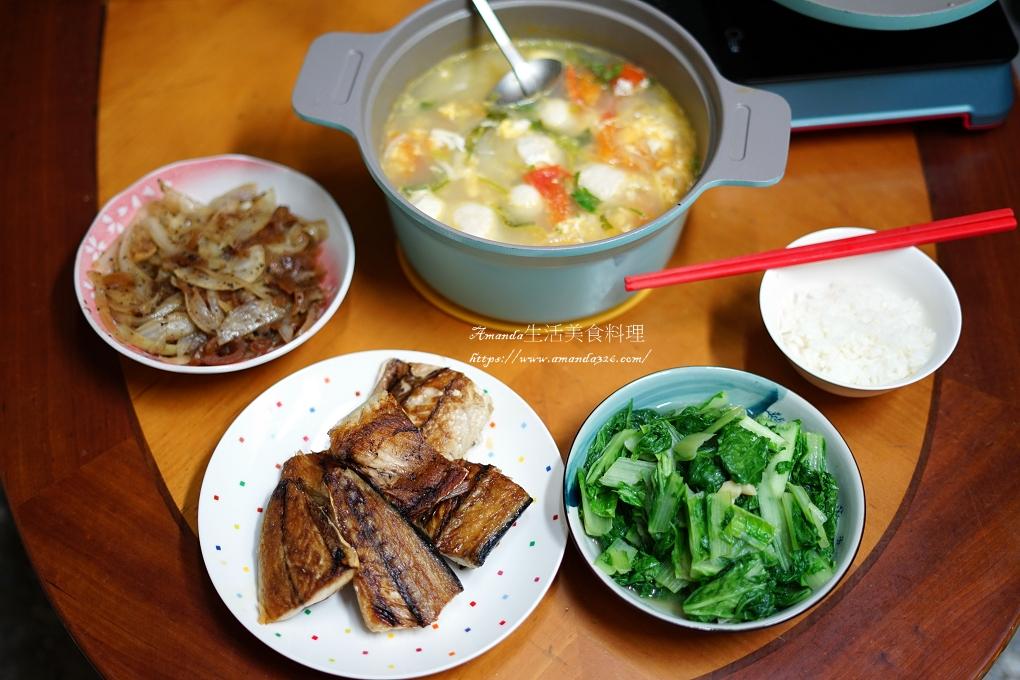 蕃茄丸子蛋花湯-自製雞肉丸子 -健康吃不發胖