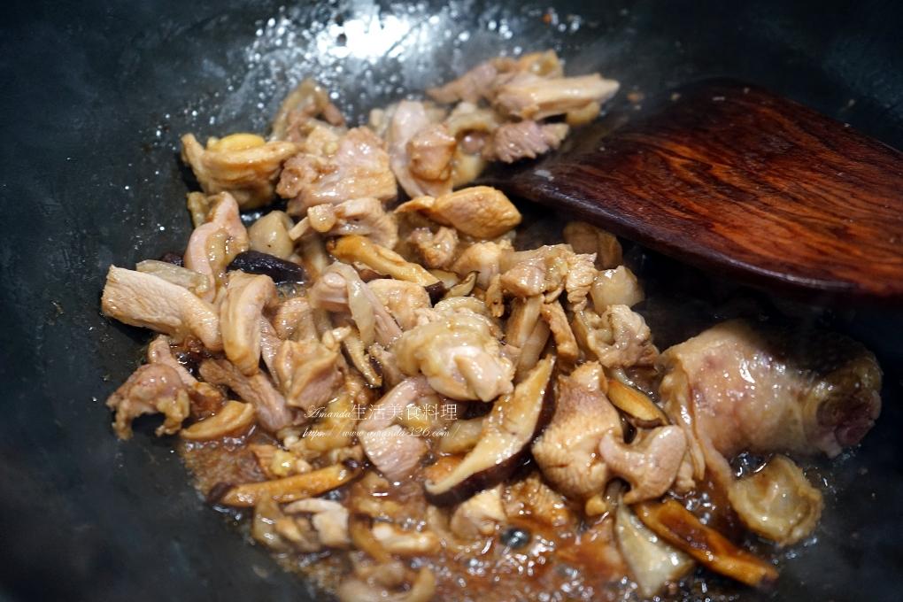 煮粥,竹筍粥,雞湯,雞粥,香菇竹筍