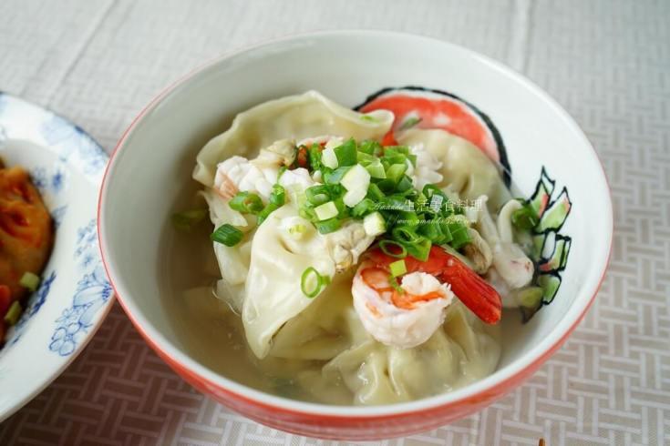 冷凍水餃,水餃湯,海鮮,湯餃 @Amanda生活美食料理