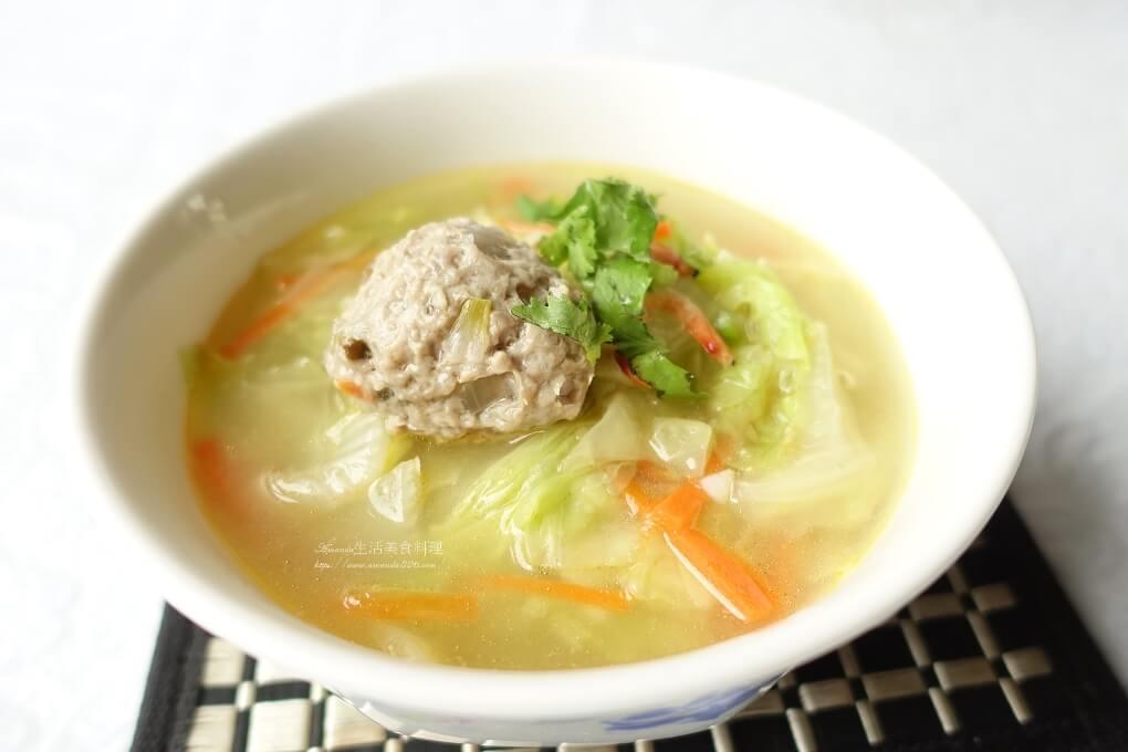 蔬菜丸子湯-瓜仔肉丸改造