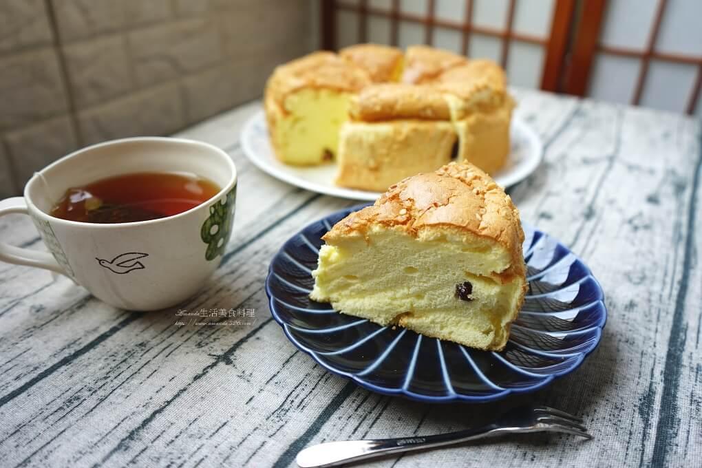 低油,低糖,低糖蛋糕,戚風,戚風蛋糕,杏仁,蔓越莓,蛋糕