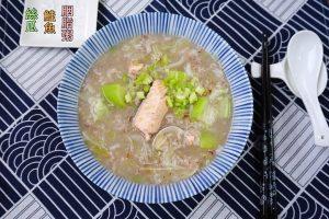 今日熱門文章:絲瓜鮭魚胭脂粥-清爽無油煙