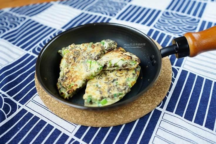 低醣,無麩質,煎餅,紫菜,鐵鍋 @Amanda生活美食料理