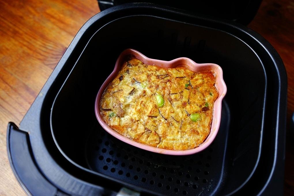 氣炸料理,氣炸食譜,焗蛋,蒸烤蛋,雞蛋料理